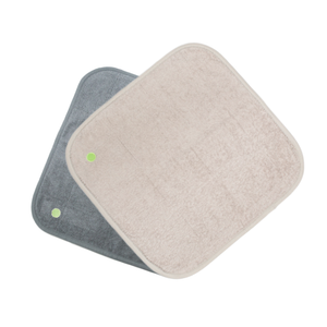 PeapodMats Size Small 45x45cm - 1.5x1.5 feet Grey and Sand JOIZI