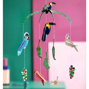 Bird Mobile - Eco-Friendly Cardboard Room Decoration