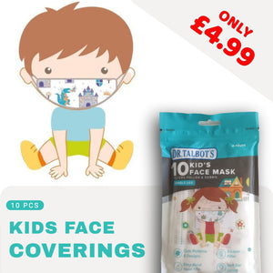 Kids Face Coverings (pack of 10)