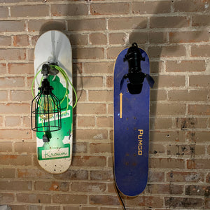 Skateboard Art & Lights