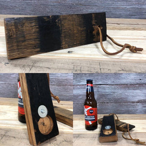 Bourbon Stave Bottle Opener