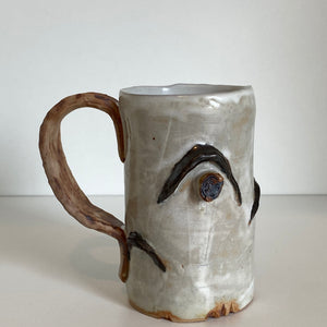 Small Birch Pottery Mug