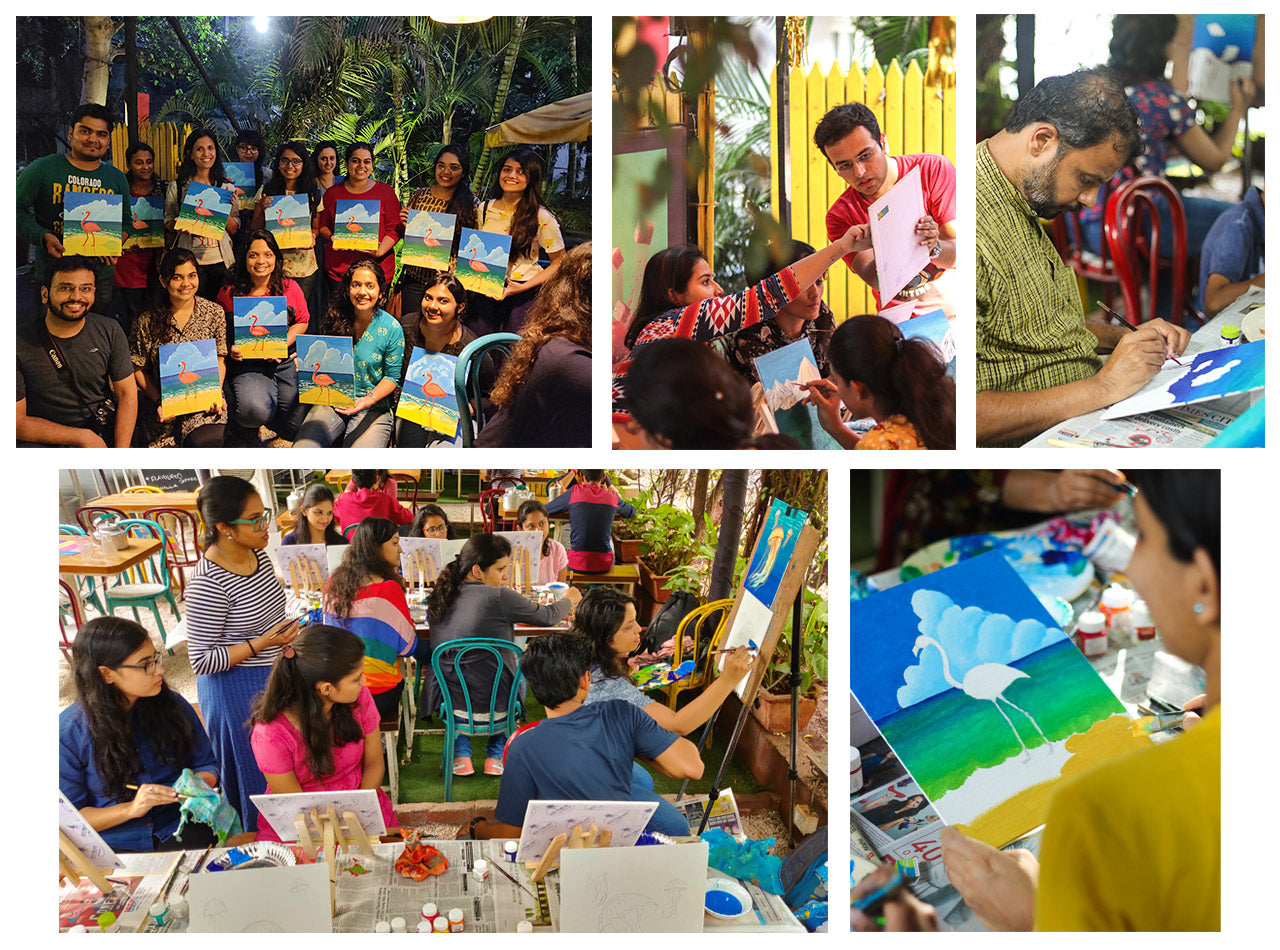 Ru&Chai Acrylic Painting Workshops in Pune