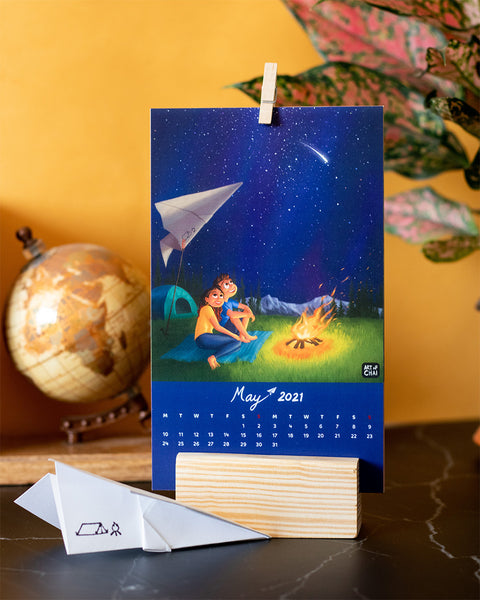 Flight of Imagination Calendar 2021