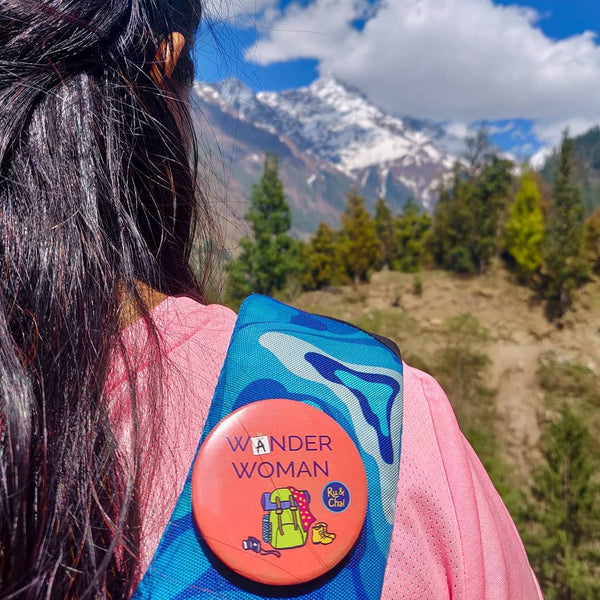 Wander Woman Badge