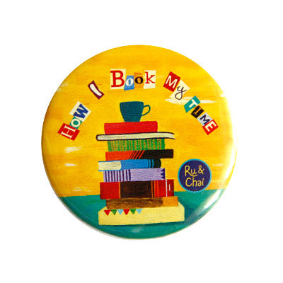 BookTime Magnet + Badge