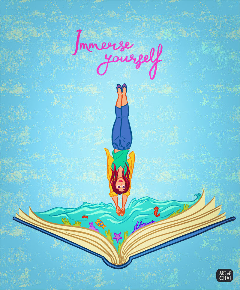 Immerse Yourself - Poster – Ru&Chai