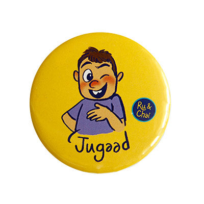 Jugaad Magnet + Badge