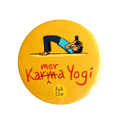 KameraYogi Magnet + Badge