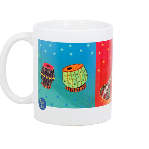Indian Music Instruments Mug