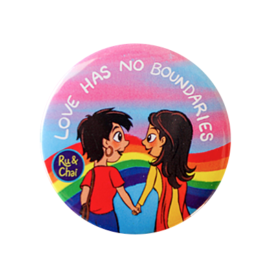 Love has no boundaries Badge1