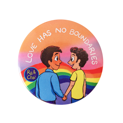 Love has no boundaries Badge2