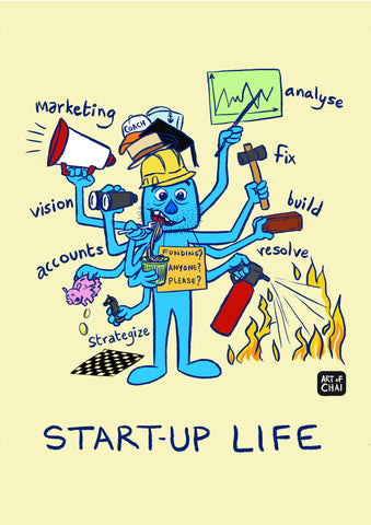 Startup Life - Poster