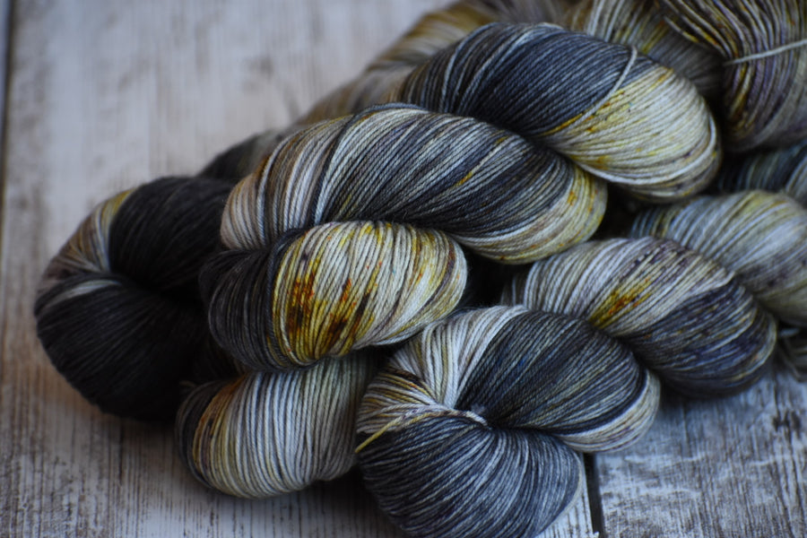Intrepid- Merino/Nylon 4 Ply Sock