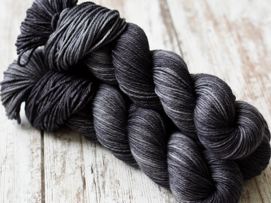 Charcoal- Merino Worsted