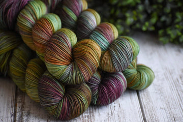 Perfect Storm - Merino/Nylon 4 Ply Sock