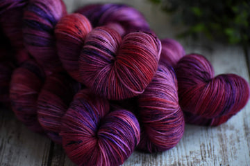 Secret Crush - Merino/Nylon 4 Ply Sock