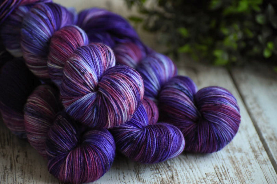 Spellbound - Merino/Nylon 4 Ply Sock