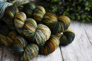Woodland - Merino/Nylon 4 Ply Sock
