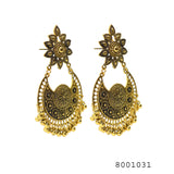 Ethnic Fine work Chand Bali Designer Earrings - FlipJewels