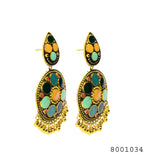 Dangling Ethnic Jhumki Baali Earrings - FlipJewels