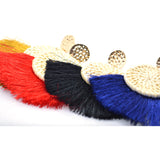 Contemporary Designer Tassel Earring multiple colours - FlipJewels