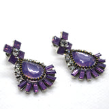Designer abstract themed Fashion Earring - FlipJewels