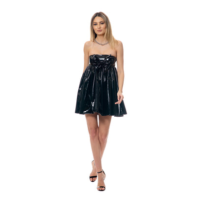 Rochie baby doll din latex