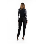 Fashion riding - Pantaloni cu copci metalice