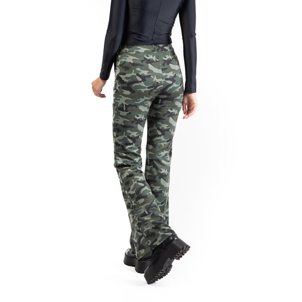 Camouflage Flared Pants