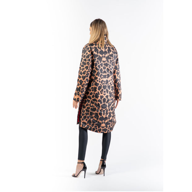 Geaca long line animal print