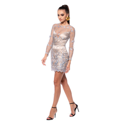 Rochie din dantela JUST Crystal