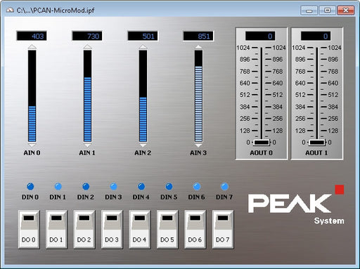 PCAN-Panel plug-in for PCAN Explorer 5