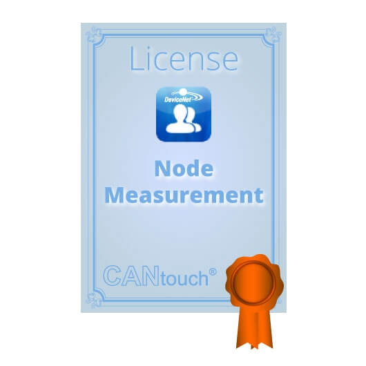 "CANtouch: License for ""Node Measurement"" - DeviceNet"