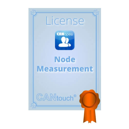 "CANtouch: License for ""Node Measurement"" - CANopen"