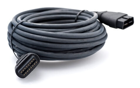 Kvaser OBD II Extension Cable 15 Meter