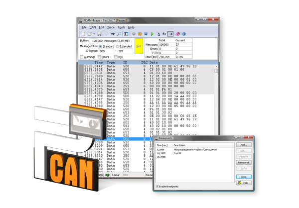 PCAN-Trace Data Logger