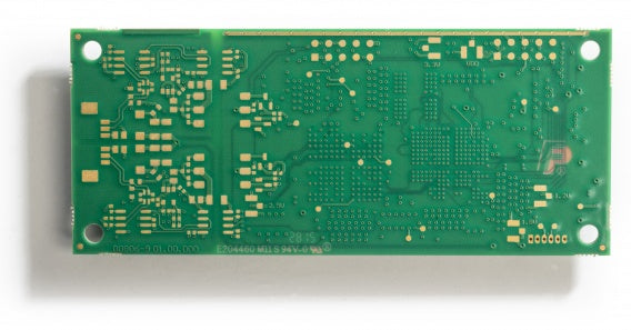 bare circuit board version of Kvaser USBcan Pro dual channel CAN interface bottom view