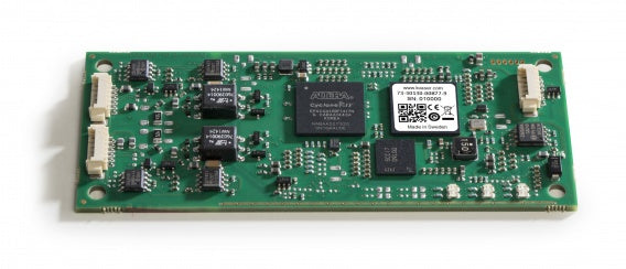 bare circuit board version of Kvaser USBcan Pro dual channel CAN interface top view