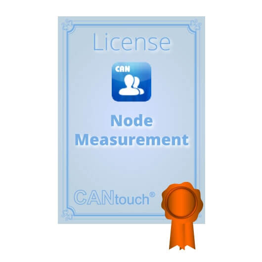 "CANtouch: License for ""Node Measurement"" - CAN"