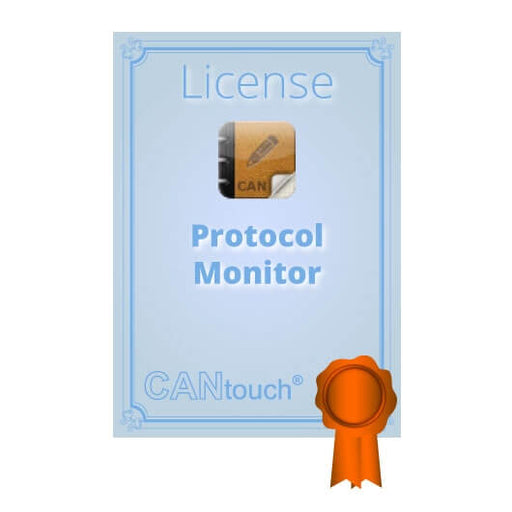 "CANtouch: License for ""Protocol Monitor CAN (Tx/Rx)"""