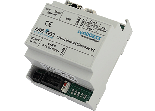 SYS TEC CAN-Ethernet Gateway V2 (Dual CAN Interfaces)