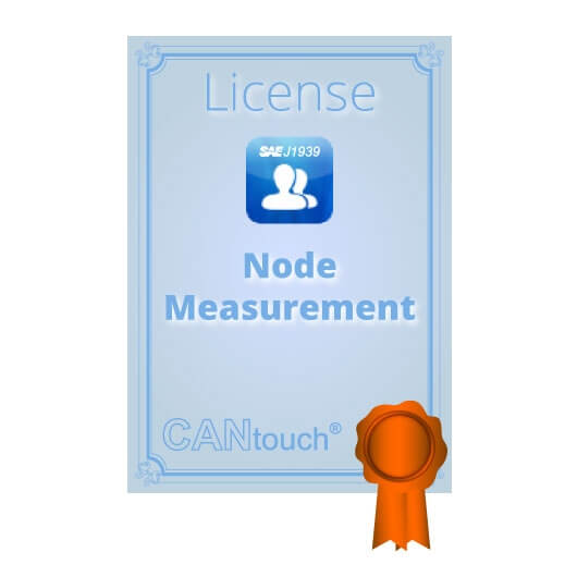 "CANtouch: License for ""Node Measurement"" - J1939"