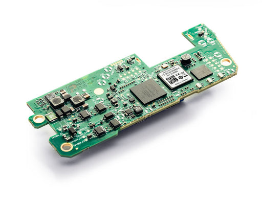 top view of a bare circuit board version of a two channel CAN bus interface and data logger