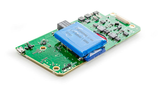bare circuit board version of Kvaser USBcan Pro five channel CAN interface top view
