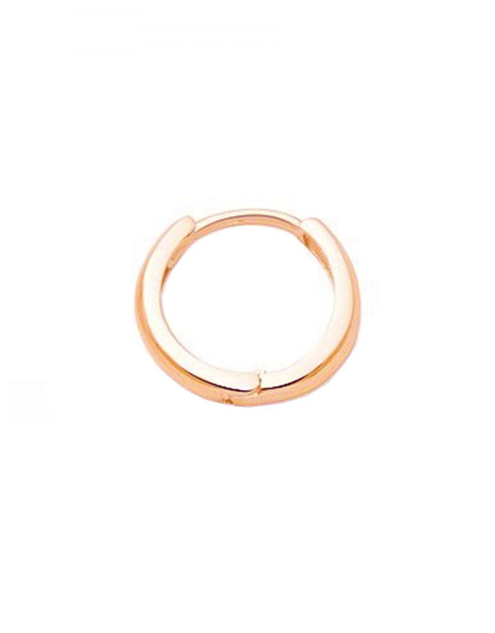 Mini Gold Hoop Piercing<br /><i><small>14K Rose Gold</small></i><br />