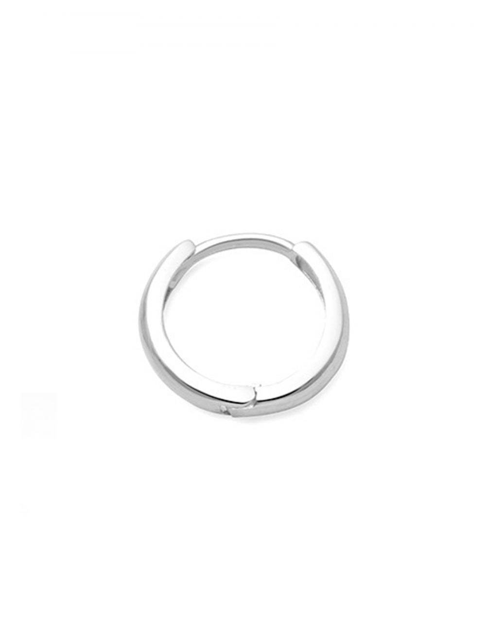 Mini Gold Hoop Piercing<br /><i><small>14K White Gold</small></i><br />