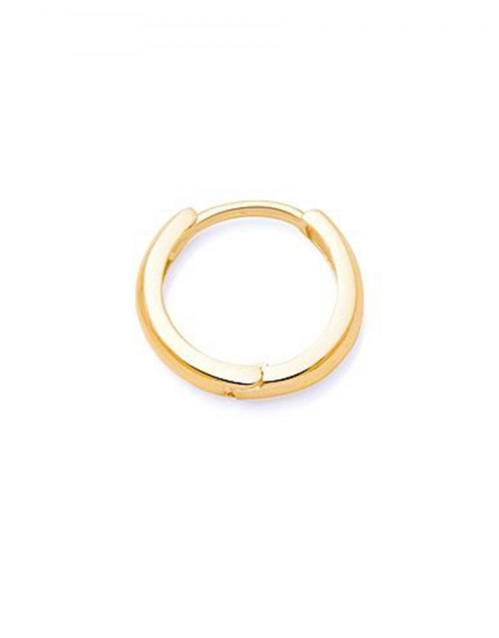 Mini Gold Hoop Piercing<br /><i><small>14K Yellow Gold</small></i><br />
