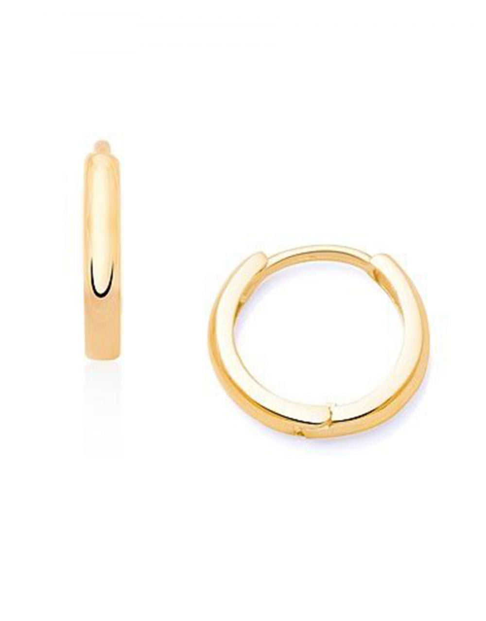 Mini Gold Hoops<br /><i><small>14K Yellow Gold</small></i><br />