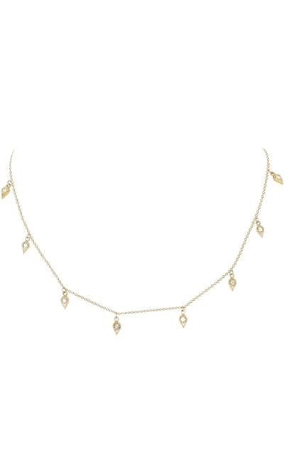 EMILY NECKLACE | 14K & Diamonds